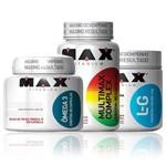 Combo Pos Treino Glutamina Multimax Complex Omega 3 Max Tita
