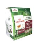 Combo Royal Canin Mini Indoor Adult 2,5kg - Grátis 2 Latas de Alimento Úmido