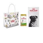 Combo Royal Canin Raças Específicas Pug para Cães Adultos 2,5kg