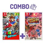 Combo Super Mario Odyssey + Ultra Street Fighter Ii: The Final Challengers - Switch