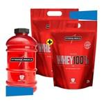 Combo Super Whey 100% 1,8kg 2 Unidades + Galão Body Size
