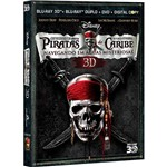 Combo Superset Piratas do Caribe 4 (Blu-Ray Duplo/ Blu-Ray 3D/ DVD /Digital Copy) - 5 Discos