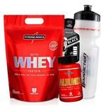 Whey Protein Concetrado 900g + Albumina 120 Capsulas Wey Way