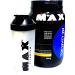Combo Top Whey 3w 900g Max Titanium Baunilha + Coqueteleira