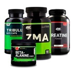 Combo Tribülüs 100 + Zma 90 + Creatina + Beta-alanine On