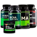 Combo Tribülüs + Bcaa + Zma + Creatina + Beta-alanine On Opt