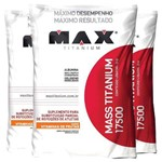 Combo Ultra Mass Titanium 9000g - Max Titanium