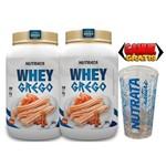 COMBO 2 Unidades Whey Protein GREGO 900 GR - SABOR CHURROS