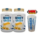 COMBO 2 Unidades Whey Protein GREGO 900 GR