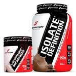 Combo Whey Isolado Sem Lactose 900g + L Glutamina 150g