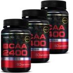 Combo 3x Bcaa 60 Cápsulas - Probiótica