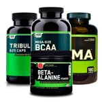 Combo Zma 180 +tribülüs + Bcaa 400 + Beta-alanine On Optimum