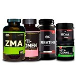 Combo Zma + Opti-women + Creatina + Bcaa + Beta-alanine On