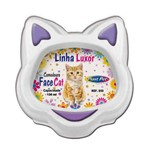 Comedouro Luxor Face Cat Roxo