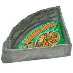 Comedouro ou Bebedouro Zoomed Repti Rock Corner Bowl - Grande