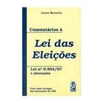 Comentarios a Lei das Eleicoes