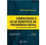 Comentarios a Lei de Beneficios da Previdencia Social - Atlas
