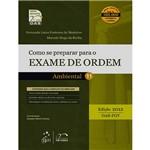 Como se Preparar para o Exame de Ordem 1ª Fase - Direito Ambiental
