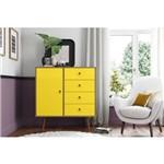 Cômoda Lady Demolição Amarelo - Patrimar Móveis