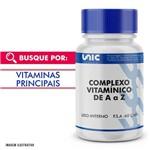 Complexo Vitamínico de a A Z 60 Caps