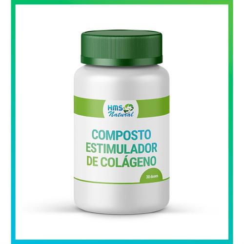 Composto Estimulador de Colágeno Cápsulas Vegan 30 Doses