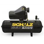 Compressor 20 Pés 200 Litros 175 Libras 5 HP Audaz Trifásico com Chave - Schulz