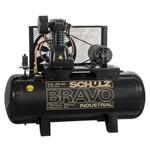 Compressor 20 Pés 200 Litros 5 HP Trifásico 220/380V - CSL-20BR/200 BRAVO - SCHULZ