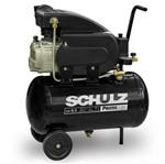 Compressor 8,5 Pés 25 Litros 120 Libras 2 HP Monofásico 127V - CSI 8,5/25 Pratic Air - SCHULZ
