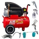 Compressor Air Plus Adventure Msi 7,6-22l 1,5 Schulz com Superkit
