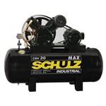 Compressor de Ar 5hp 20/200l Trifásico Schulz