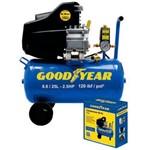 Compressor de Ar 25L 8.8 2/5 Hp Goodyear 110V