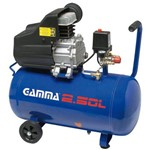 Compressor de Ar 7,5 Pés 24 Litros - Gamma - G2801Kbr