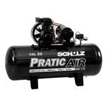 Compressor de Ar Csl20/200l 200 Litros 220/380v Trifasico Pratic Air