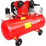 Compressor de Ar Monofásico 2 Hp 10 Pés 100 Litros 110V - Nca100L2Hp - Nagano