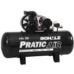Compressor Pratic 20/200 Litros Trifásico SCHULZ-CSL20/200L