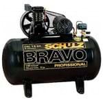 Compressor Schulz Bravo CSL 15 BR/100L 3CV - 220/380V Trifásico 921.7975-0