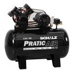 Compressor Schulz CSV10PraticAir 100Lts 140Lbs/9.8BAR 2cv Mono