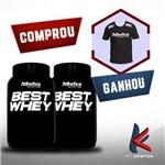 Comprou 2 Best Whey - Ganhou Camisa Atlhetica