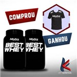 Comprou 2 Best Whey Doble Chocolate - Ganhou Camisa Atlhetica