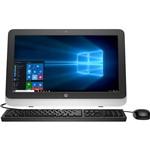 """Computador All In One HP 22-3100br Intel Core I3 4GB 500GB LED 22"""" Preto Windows 10"""