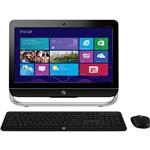"Computador All In One HP Intel Core I3 4GB 500GB com Tela LED 20"" Windows 8.1"