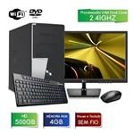 """Computador com Monitor Lg 19.5"""" 20m37aa-b Intel Dual Core 2.41 4gb Hd 500gb Wifi Dvd 3green Fast"""