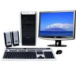 "Computador E4500 Intel® Core 2 Duo 2GB 250GB DVD-RW Linux - Evolute + Monitor LCD W1752T 17"" (1440x900) Widescreen - LG"