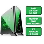 Computador Gamer A4 4000 Dual Core 3.2 Ghz HDMI 4Gb Ati Radeon HD 7480D