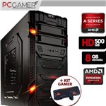 Computador Gamer Aerocool AMD 7300, Radeon HD 8470D, 500GB HD, 8GB Ram + Kit Gamer