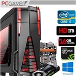 Computador Gamer GT I7 7700, Geforce GTX 1060, HD 1TB, 16GB Ram