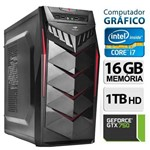Computador Gráfico Intel Core I7, 16GB Ram, HD 1TB, Geforce Gtx 750, Windows 7
