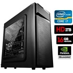 Computador Gráfico Intel Core I7 6700, 16gb Ram, HD 1tb, Quadro K1200, Windows 10