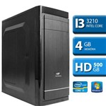 Computador Intel Core I3 3210, 4GB RAM , HD 500, Windows 7 Pro, Wifi