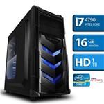 Computador Intel Core I7 4790 Quarta Geração, 16GB, HD 1TB